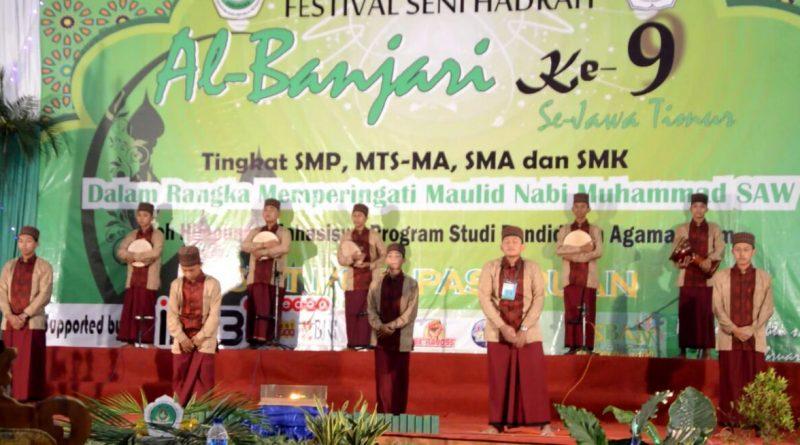 8_Banjari Juara I STIT PGRI Pasuruan