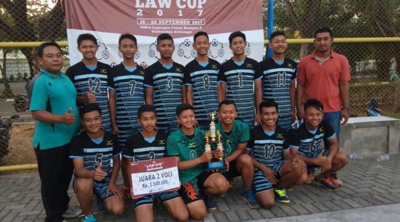 Voli SMK Krian 1 Juara II Law Cup 2017 (2)