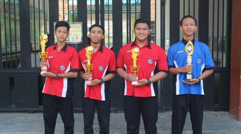 4 Tropi Juara LKS 2017 Tingkat Kabupaten Sidoarjo Untuk SMK Krian 1