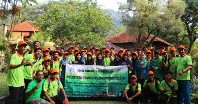 Pembinaan PPLH, Kepedulian SMK Krian 1 Terhadap Lingkungan Hidup