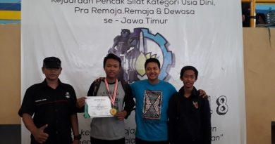 Juara I Pencak Silat ITS CUP ke-5 2018
