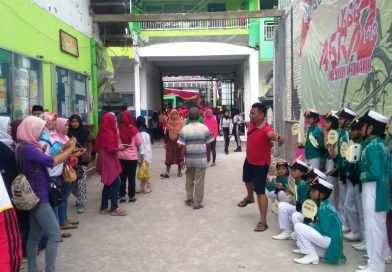 Kemeriahan Bazar dan Selfie The 2nd AGRA 2018 SMK Krian 1