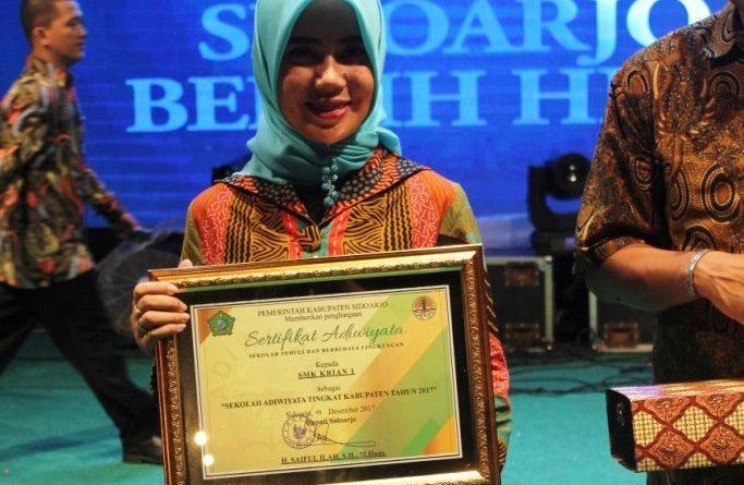 SMK Krian 1 - Penghargaan Adiwiyata (12)