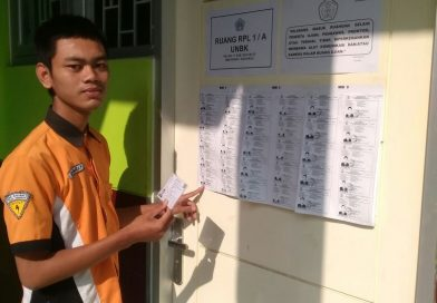 Ujian Nasional Berbasis Komputer 2018 SMK Krian 1 Berjalan Lancar