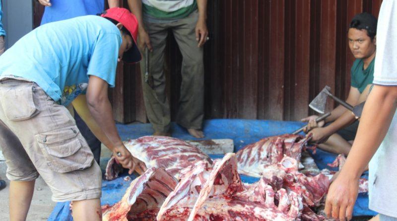 Bungkus Daun Untuk Daging Kurban (4)
