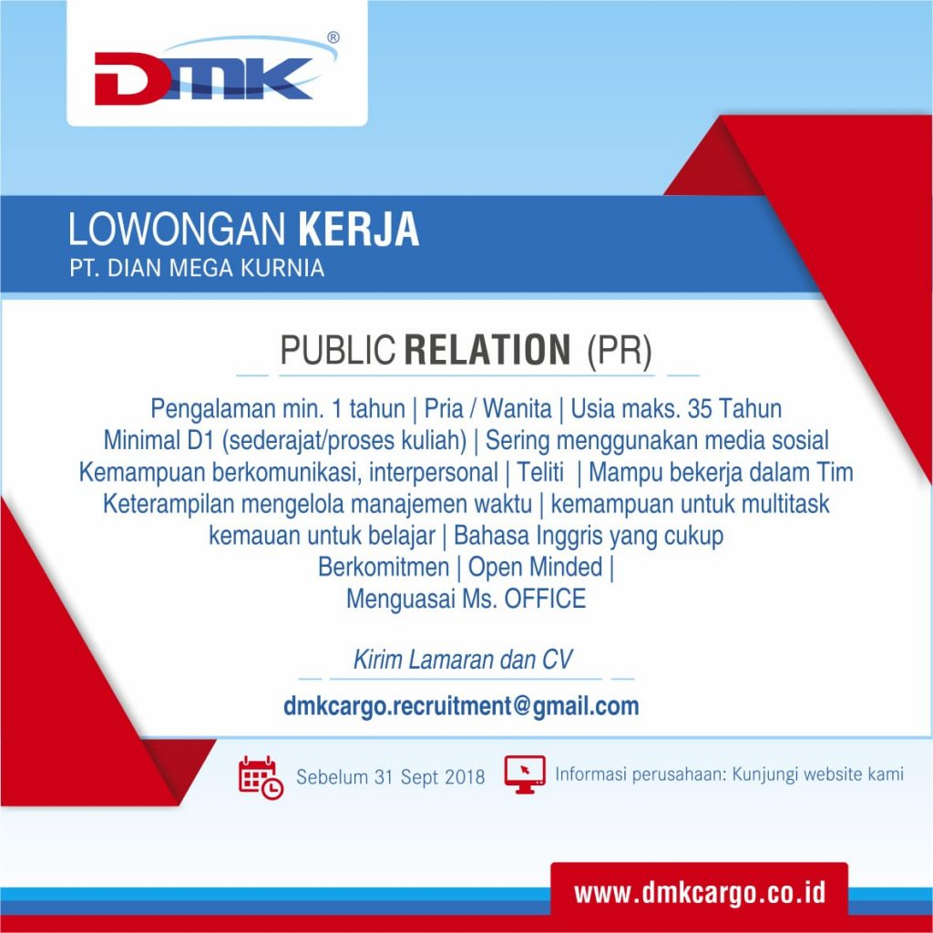 Loker DMK PR