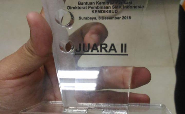 Juara II Nasional Teknologi Tepat Guna 2018 (3)