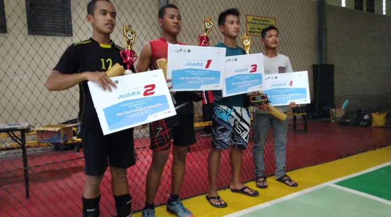 Juara 1 Perbanas Voley Competition 2019 (2)