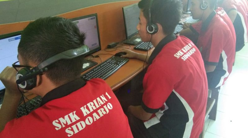 Suasana Simulasi UNBK 2019-2020 Skarisa (1)