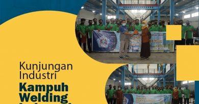 Kunjungan Industri 2021 ke Kampuh Welding Indonesia