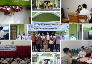 SMK Krian 1 Sidoarjo Rekrut Tenaga Kerja, Diikuti 452 Alumni dan 275 Umum