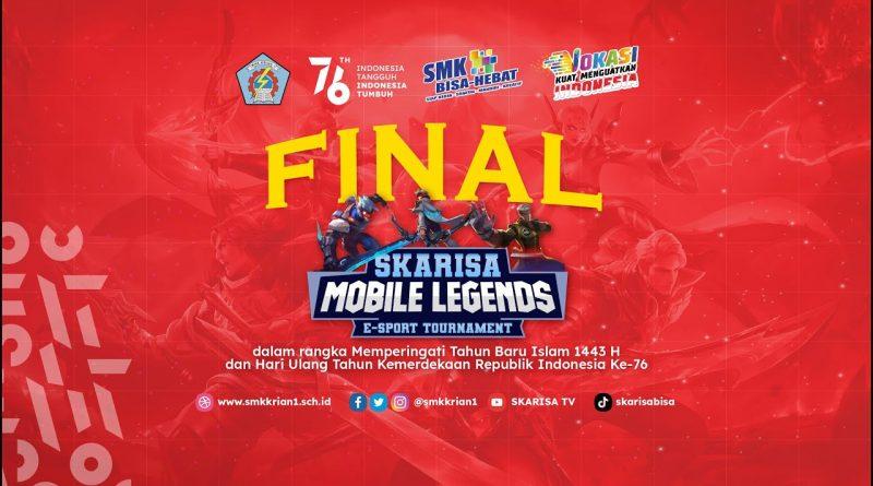 GRAND FINAL LOMBA MLBB SKARISA e-Sport Tournament HUT RI KE-76
